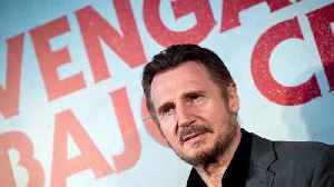 Liam Neeson attends 'Cold Pursuit' premiere five months after racism row [Video]