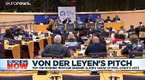 MEPs narrowly back Ursula von der Leyen as next European Commission president