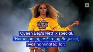 Beyoncé's 'Homecoming' Snags 6 Emmy Nominations [Video]