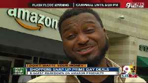 Shoppers snap up Prime Day deals [Video]