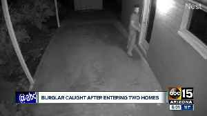 Man arrested for sex assault attempt, entering two Phoenix homes [Video]
