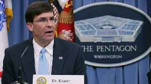 Senate Committee To Hold Hearing On Mark Esper As Defense Secretary [Video]