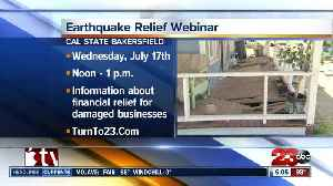 Small Business Administration offering earthquake relief seminar [Video]