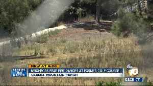 Neighbors concerned as brush takes over former golf course [Video]