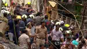 Dozens feared trapped by India building collapse [Video]