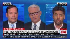 CNN panelist tells Latino Trump supporter: 'White nationalists will never love you' [Video]