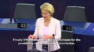 Von der Leyen lays out cards to EU lawmakers ahead of vote [Video]
