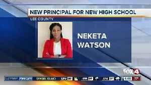 Principal named for upcoming high school in Lee County [Video]