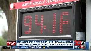 News video: July to be declared 'Purple Ribbon Month'