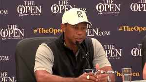 Tiger Woods taking care, readies for British Open [Video]