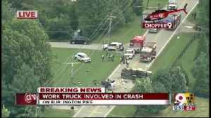 Chopper 9 Exclusive: Truck crash on Burlington Pike near Vice Lane [Video]