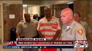 Corey Atchison found innocent in Tulsa County court after spending 28 years in prison [Video]