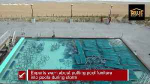 Preparing your pool before a storm | Tracking the Tropics Quick Tip [Video]