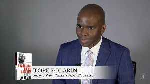 Tope Folarin on his debut novel 'A Particular Kind of Black Man' [Video]