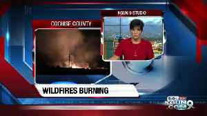 CCSO: Monitoring several wildfires started by lightning strikes [Video]
