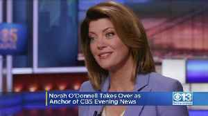 News video: Norah O'Donnell Takes Over As Anchor Of CBS Evening News