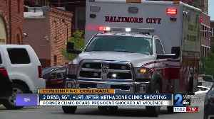 Methadone clinic shooting shocks former Man Alive Clinic board president [Video]