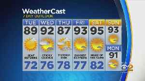 New York Weather: CBS2 7/15 Nightly Forecast at 11PM [Video]
