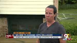 Erlanger flooding the worst in recent memory, victims say [Video]