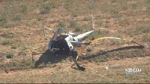 Flight Instructor Killed In Hayward Airport Helicopter Crash Identified [Video]