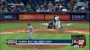 Travis d'Arnaud 3 home runs lift Tampa Bay Rays over New York Yankees [Video]