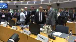 News video: EU foreign minister scramble to save Iran nuclear deal