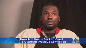 Meek Mill To Appear In Court Tuesday In Effort To Overturn His Previous Conviction On Gun, Drug Charges [Video]