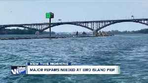 $75K in repairs needed at Bird Island Pier after ice caused damage [Video]