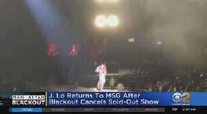 Show Goes On For J. Lo After Blackout Cancellation [Video]