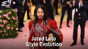 Jared Leto Style Evolution [Video]