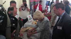 The Duchess of Cornwall makes a Cornish pasty [Video]