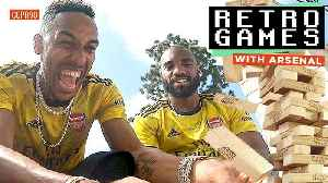 Aubameyang, Lacazette & Mkhitaryan! | 'You're Cheating!' 😂| Retro Games 🕹 [Video]