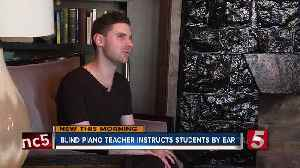 Blind piano instructor is the newest addition at Nashville Music Academy [Video]