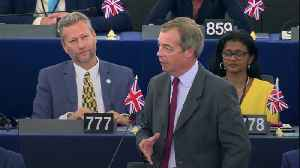 Nigel Farage launches attack on Emmanuel Macron and Ursula von der Leyen