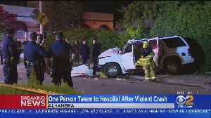 Shooting At Alhambra 7-Eleven Followed Shortly By Violent Crash [Video]