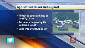Gov. Bill Lee officially signs Sgt. Daniel Baker Act into law [Video]