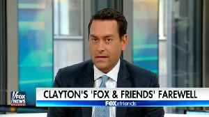 News video: Report: Former 'Fox And Friends' Co-Host Clayton Morris Flees Country Amid Legal Troubles