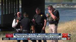 Bakersfield Kidnapping suspect booked overnight [Video]