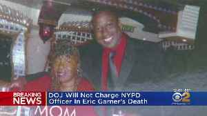 DOJ Says No Enough Evidence To Charge NYPD Officer In Eric Garner's Death [Video]