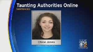 Woman Accused Of Taunting Sheriff's Office On Facebook Is Going To Jail [Video]