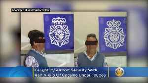 Man Arrested With Cocaine Under Toupee At Airport [Video]