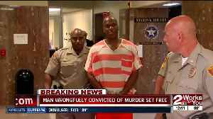 Man wrongfully convicted of murder set free [Video]