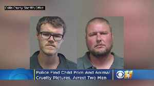 Texas Men Arrested After Child Porn And Animal Cruelty Pics Allegedly Found On Computer [Video]