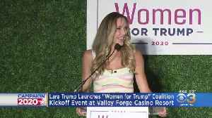 Laura Trump Launches 'Women For Trump' Coalition [Video]