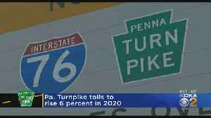 The Pennsylvania Turnpike Commission Approves Toll Hike [Video]