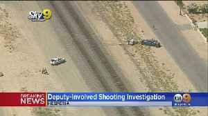 Man Escapes After Trying To Run Down Deputy In Hesperia, Shots Fired [Video]