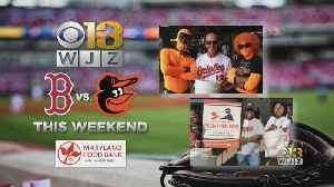 WJZ Collecting Food Donations For Orioles Food Drive [Video]
