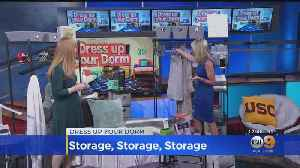 Lifestyle Expert Shows You How to Furnish Your Dorm [Video]