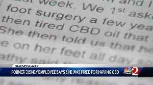 Former bartender at Disney claims she was fired over CBD oil used for foot pain [Video]
