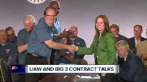 UAW and Big 3 contract talks [Video]